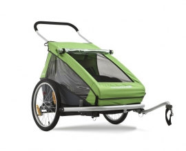 Rent a Croozer bicycle trailer