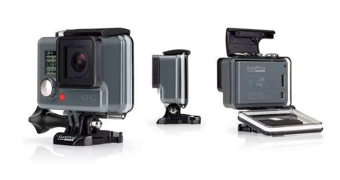Rent a GoPro HERO5 black action camera